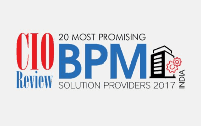 CIOReview publishes Interfacing as one of the Most Promising BPM Solution Provider in 2017