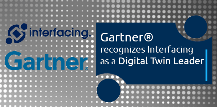 Gartner recognizes Interfacing as a Digital Twin Leader