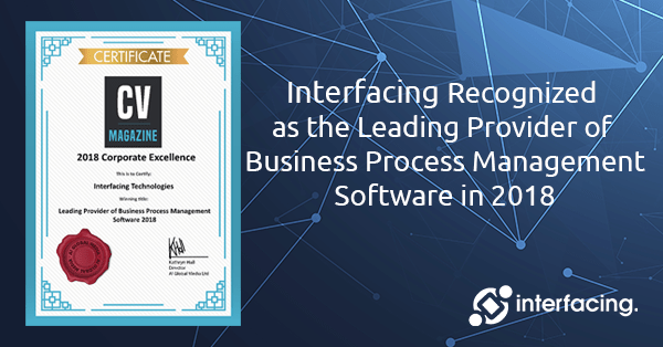 Interfacing Recognized as the Leading Provider of BPM Software