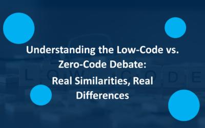 Understanding the Low-Code vs. No-Code Debate:  Real Similarities, Real Differences