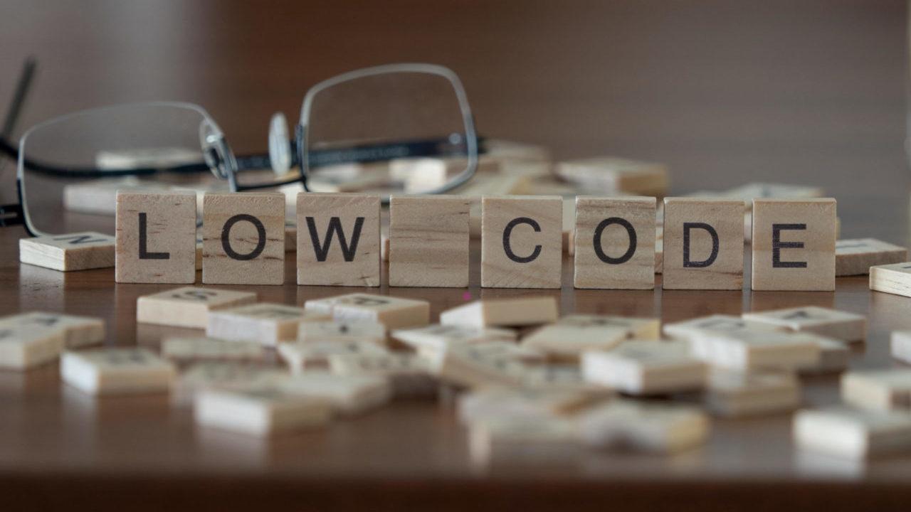low code rapid application development