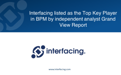 Interfacing listed as the Top Key Player in BPM by independent analyst Grand View Report