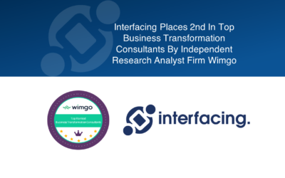 Interfacing Places 2nd In Top Business Transformation Consultants: Independent Research Analyst Firm Wimgo